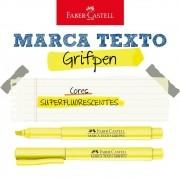 Caneta Marca Texto Grifpen Faber Castell - Amarelo