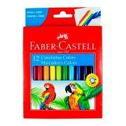 Canetinhas Colors 12 cores Faber Castell