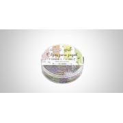 Clipes para Papel Colorido com 200 Unidades Tamanho 5 - BRW