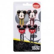 Clips Especial Mickey - com 4 unidades - 22692 - Molin