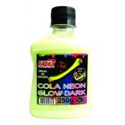 Cola Para Slime Neon Glow Dark Brilha No Escuro 250g Radex