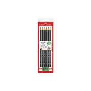 EcoLápis N°2 Kit com 6 Lápis + Apontador - Faber Castell