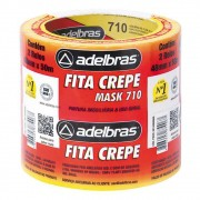 Fita Crepe 710 48mmx50m - 2 Rolos Adelbras