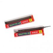 Grafites 0.7 mm HB Molin