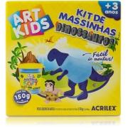 Kit de Massinhas Dinossauros Art Kids Acrilex