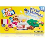 Kit de Massinhas Doceria Acrilex