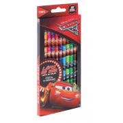Lápis de Cor Carros com 12 cores  - Tris