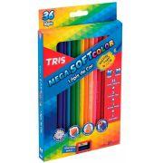 Lápis De Cor Mega Soft Color 36 Cores – Tris
