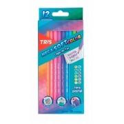 Lápis De Cor Mega Soft Color Tons Pastel – Tris