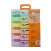 Marca Texto Pastel Trend Estojo com 6 unidades