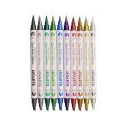 Marcador Artístico Dual Brush Metalic estojo com 10 cores