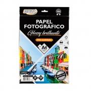 Papel Fotográfico Glossy Brilhante A4 Pacote com 20 unidades - BRW