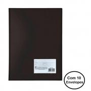 Pasta Catálogo Ofício c/ 10 envelopes finos