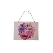 Quadro Decorativo Frases Inspiradoras - FWB