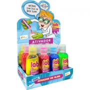 Refil Lab Slime Ativador Colorido Perfumado - Doce Brinquedo