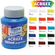Tinta para Tecido 120ml Acrilex