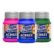 Tinta para Tecido Fosca 37ml Acrilex