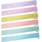Washi Tape Pastel Trend com 6 rolos Leonora