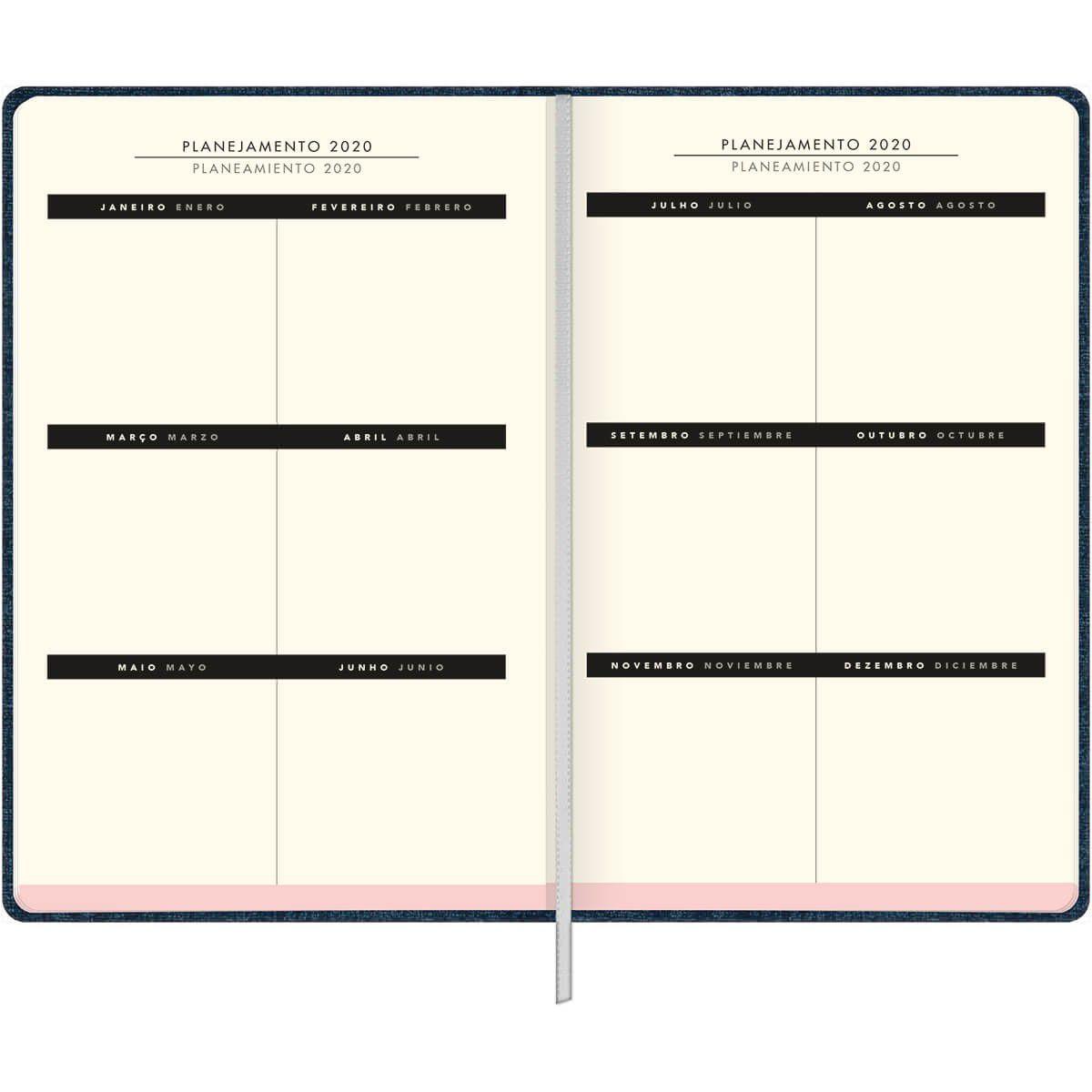 Agenda Costurado Planner 2020 Cambridge  Tilibra