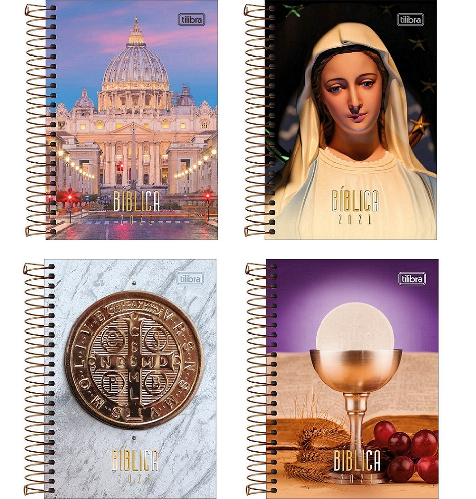 Agenda Espiral 2021 Bíblica M5 Tilibra