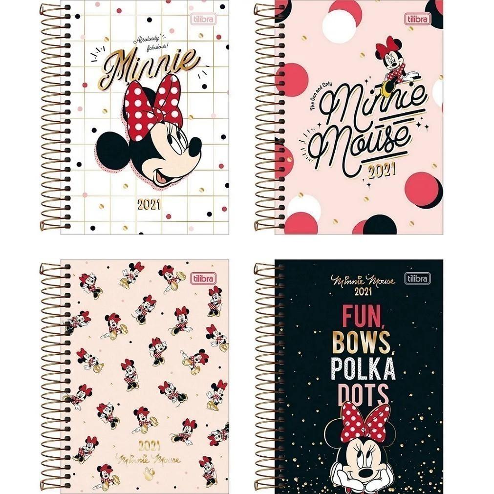 Agenda Espiral 2021 Minnie Mouse M5 Tilibra