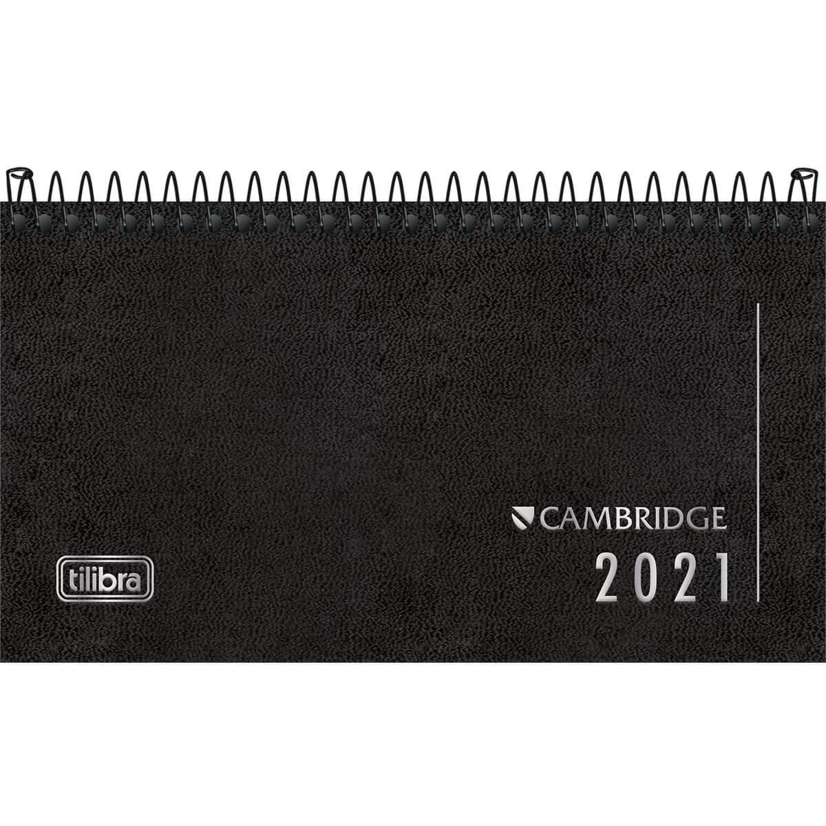Agenda Espiral Executiva De Bolso 2021 Cambridge M2 Tilibra