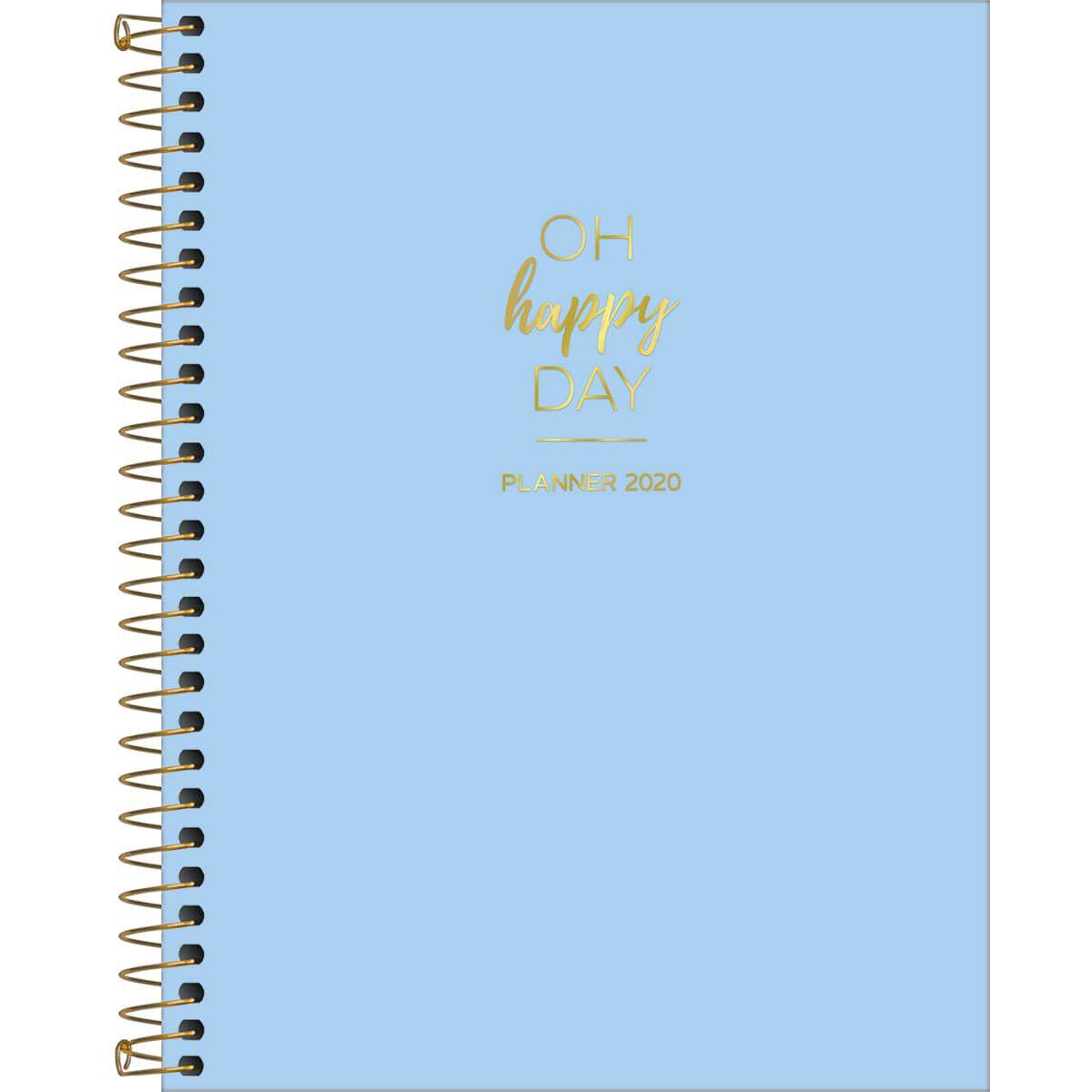 Agenda Espiral Planner 2020 Happy M7 Tilibra