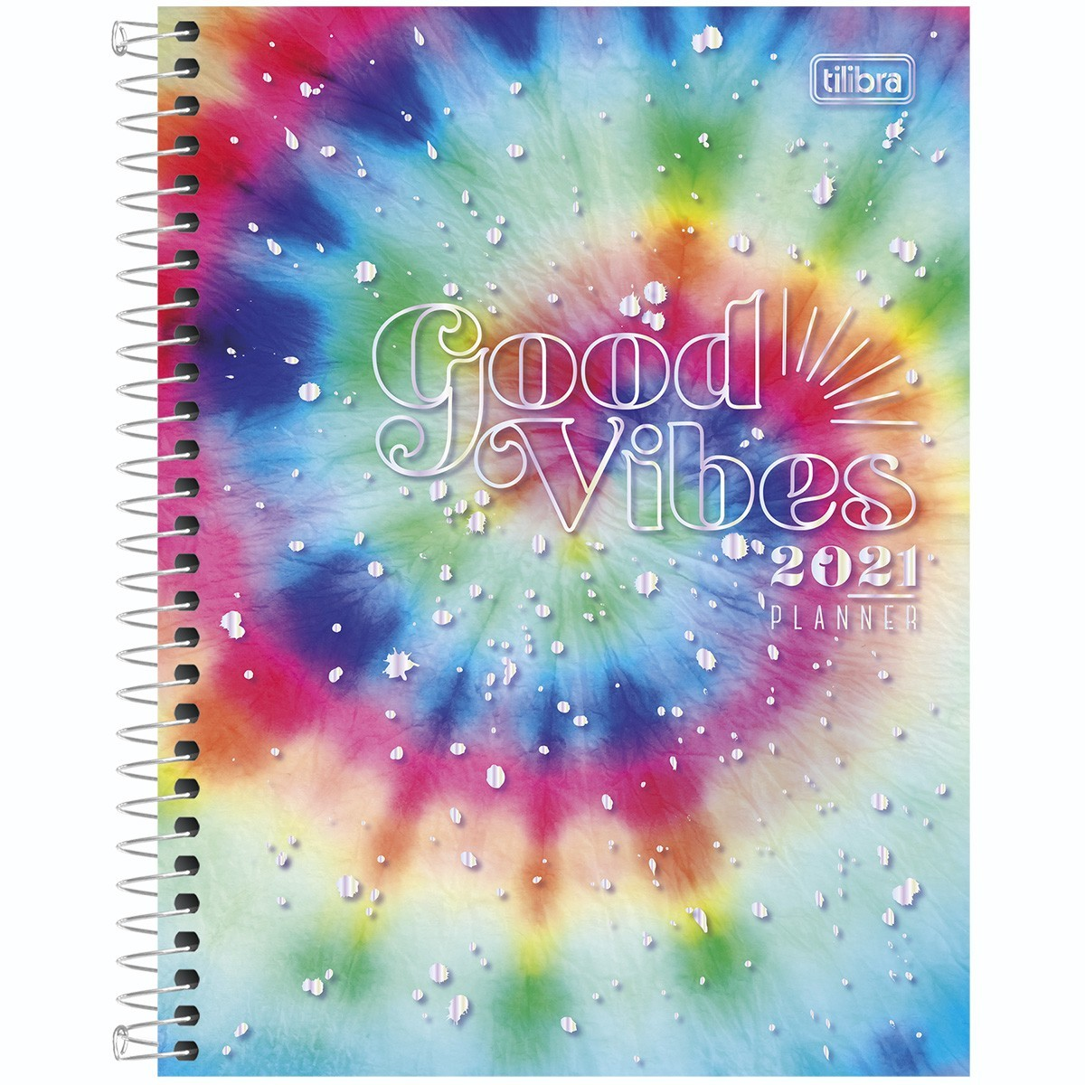 Agenda Espiral Planner Good Vibes M7 - Tilibra