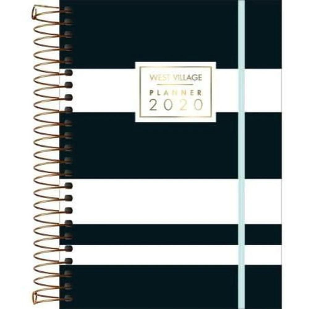 Agenda Espiral Planner West Village 2020 M7 Tilibra