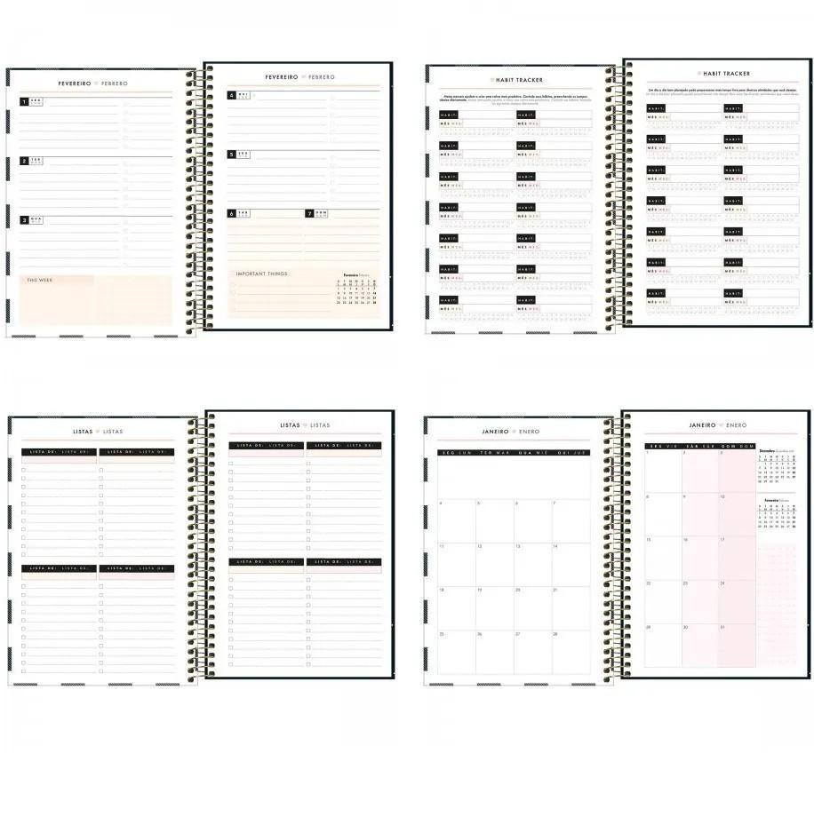 Agenda Espiral Planner West Village 2021 M5 Tilibra