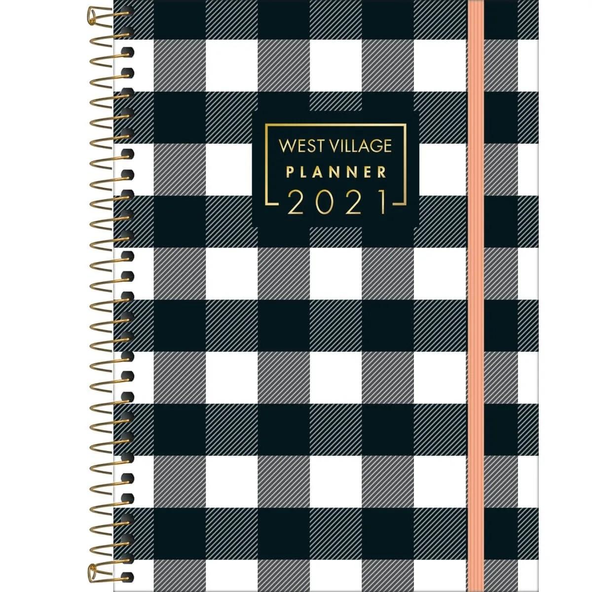 Agenda Espiral Planner West Village 2021 M7 Tilibra