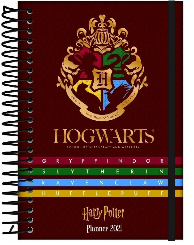 Agenda Planner 2021 Espiral Harry Potter Jandaia