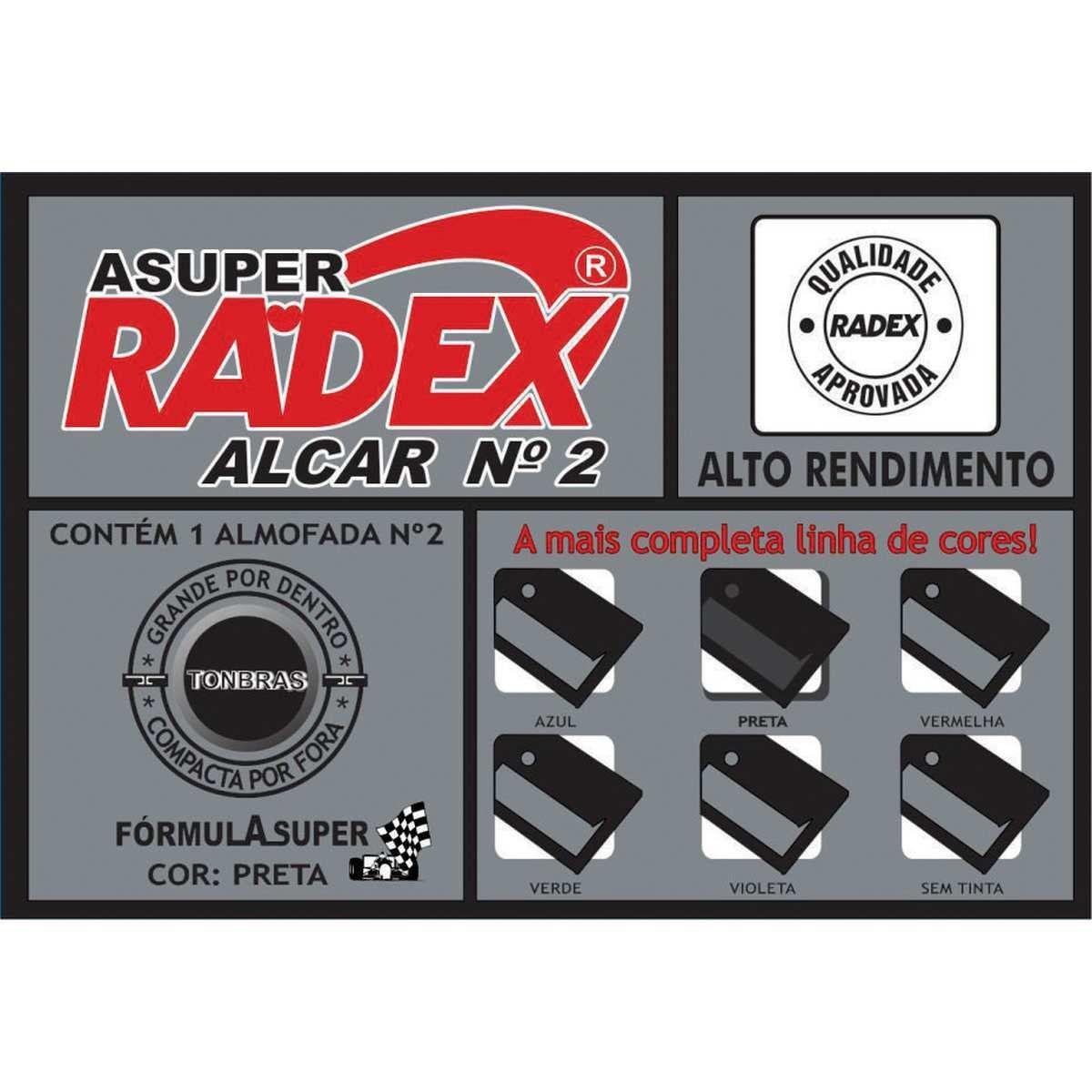 Almofada para Carimbo N°2 - Radex