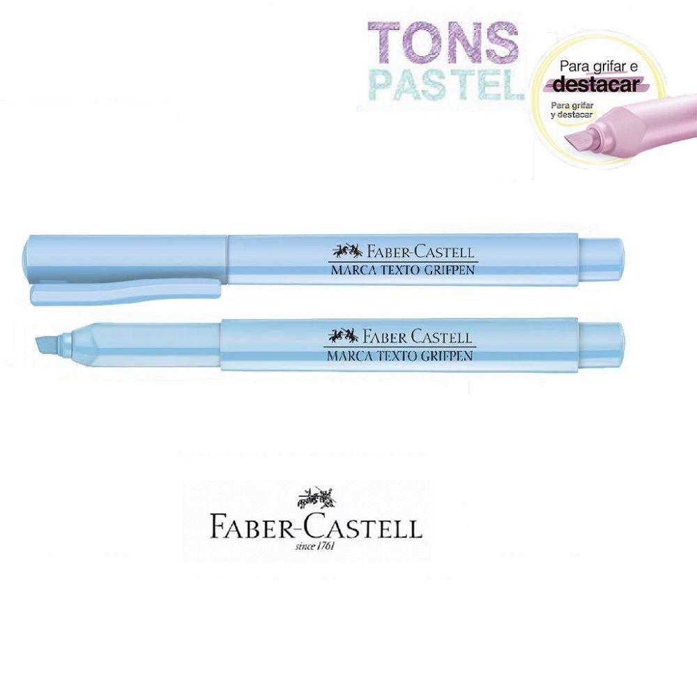 Caneta Marca Texto Grifpen Faber Castell - Verde Pastel