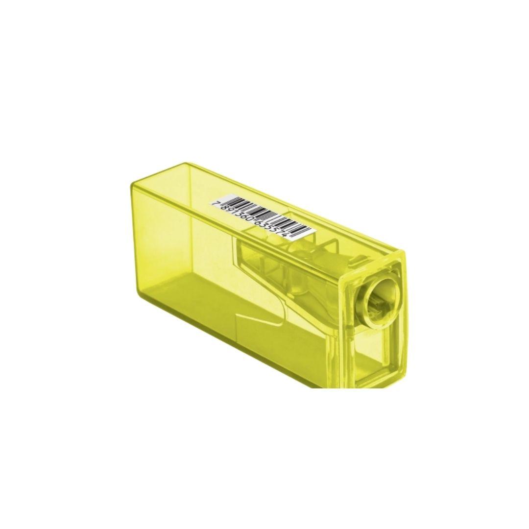 Apontador Neon com Depósito - Faber Castell