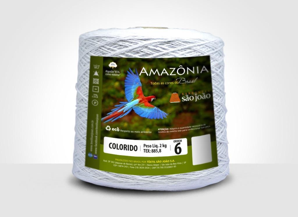 Barbante Amazônia N°6 - 2kg São João