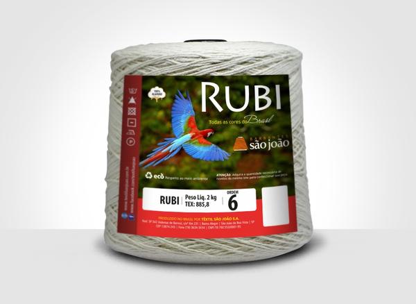 Barbante Rubi - 2kg São João