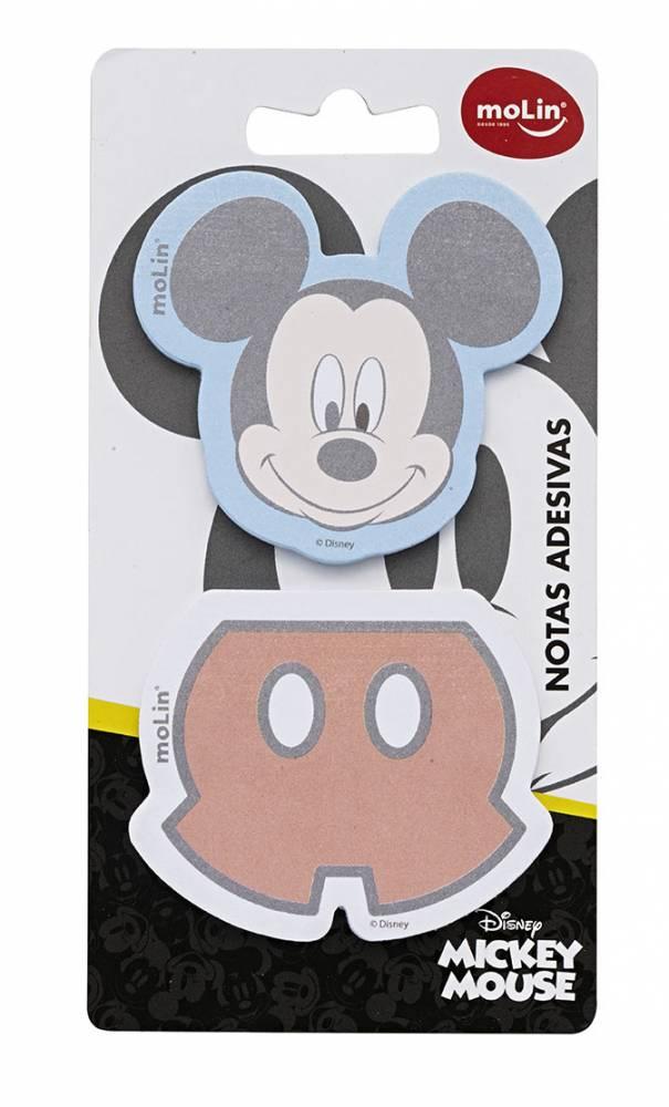 Bloco Adesivo Sticky Mickey Mouse 22969 Molin Blister
