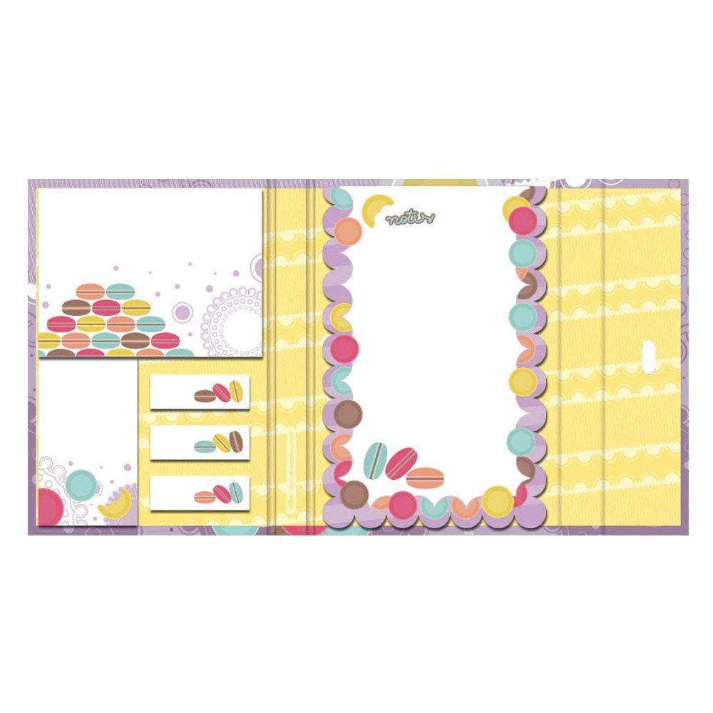 Blocos Reposicionáveis Candy Conjunto com Caneta LL 39295 UN PM