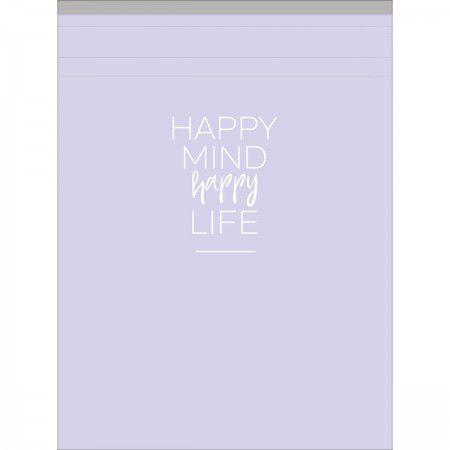 Caderneta Grampeada ao alto G Happy 80 folhas Tilibra