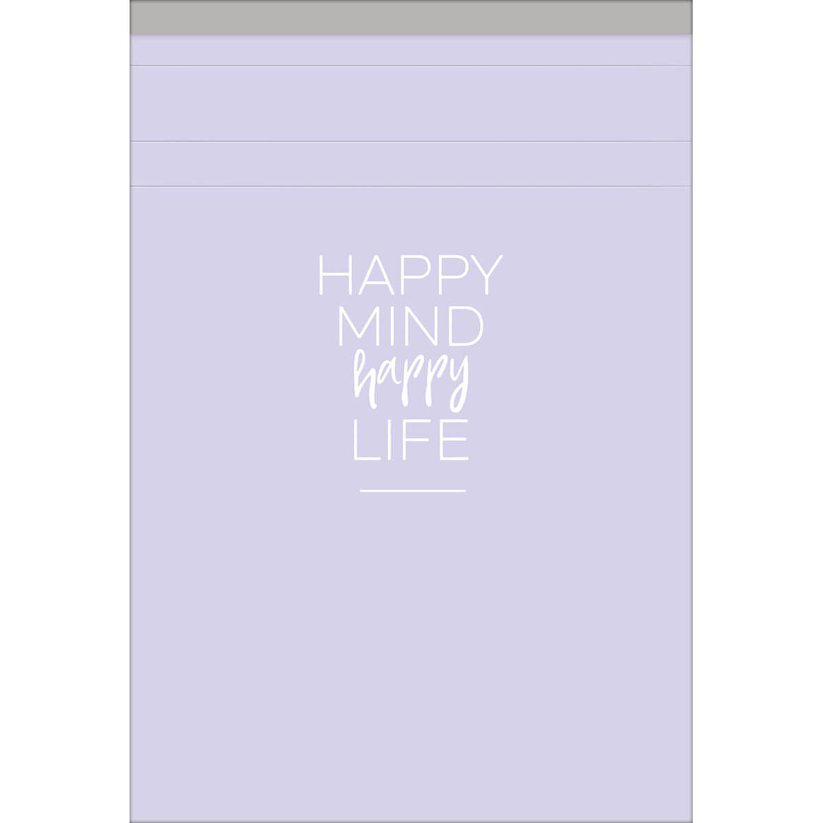 Caderneta Grampeada ao alto M Happy 80 folhas Tilibra