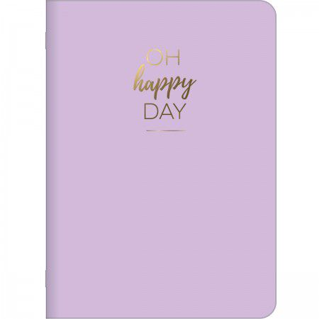 Caderneta Grampeada Happy 32 folhas Tilibra