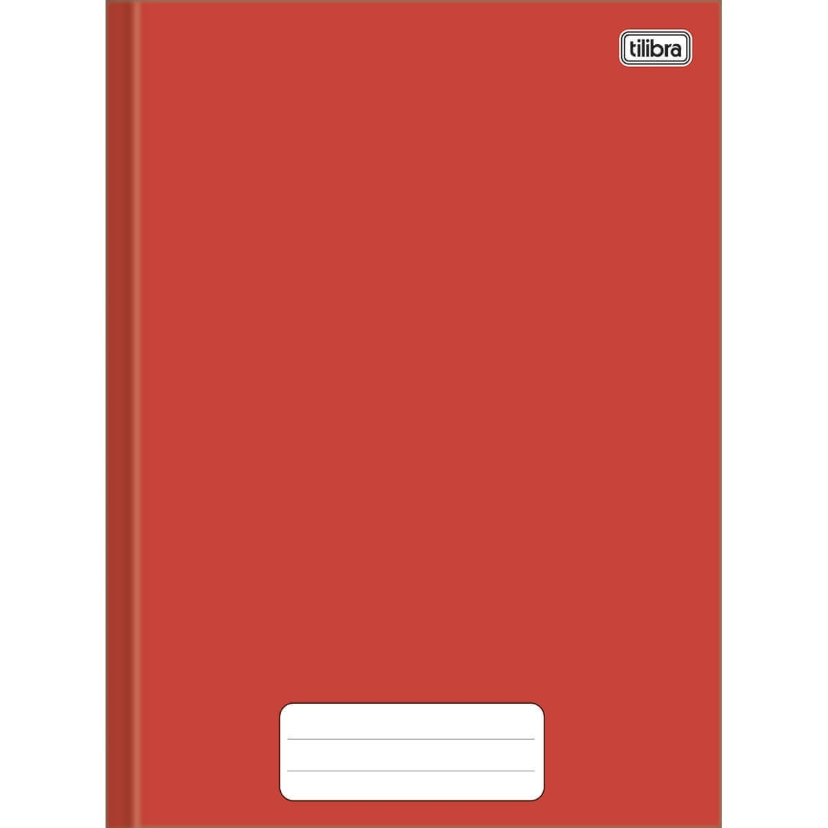 Caderno Brochura Capa Dura 1/4 Pepper 80 Folhas Tilibra