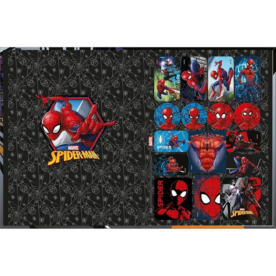 Caderno Brochura Capa Dura Spider Man Marvel 80 Fls Tilibra
