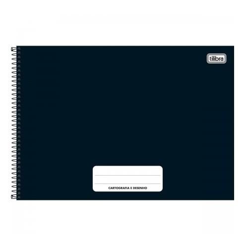 Caderno Cartografia e Desenho Capa Dura 80fls Tilibra