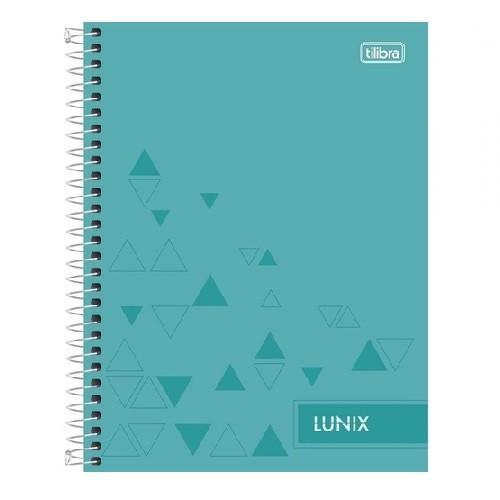 Caderno Colegial 10Mat /160fls Lunix Tilibra