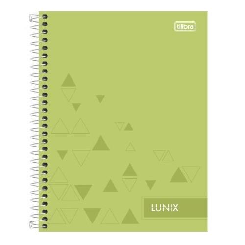 Caderno Colegial 1Mat/80fls Lunix Tilibra