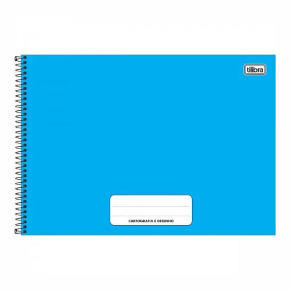 Caderno de Cartografia e Desenho Pepper de Capa Dura 80 Folhas - Tilibra