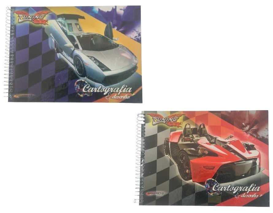 Caderno de Cartografia e Desenho Tuning - Brimpress