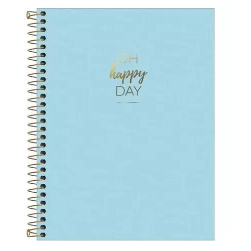 Caderno Colegial Happy Capa Flexível 80 Folhas Tilibra
